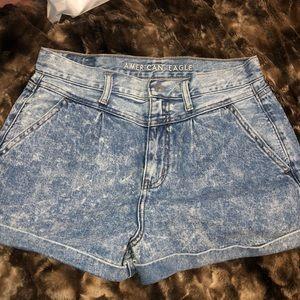 American Eagle Mom Jean Shorts